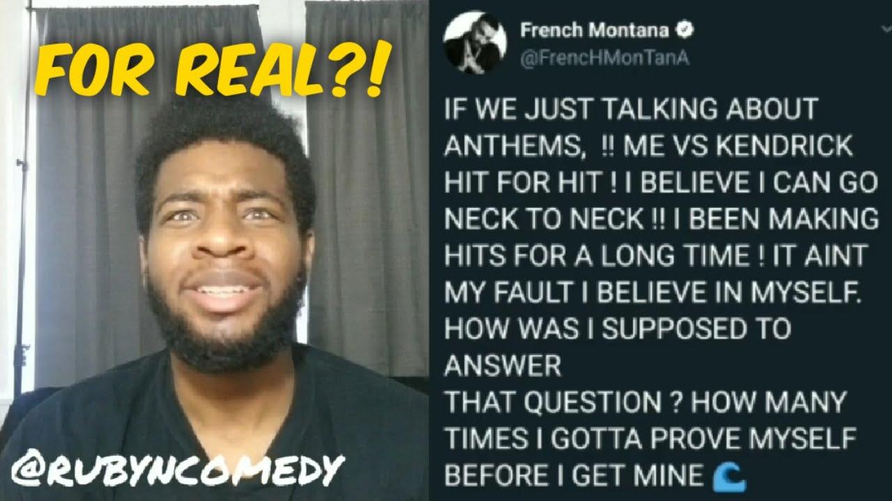 French Montana vs Kendrick Lamar