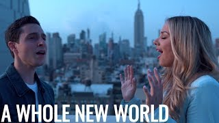 Gambar cover Aladdin - A Whole New World (Emma Heesters & Dan Berk Cover)
