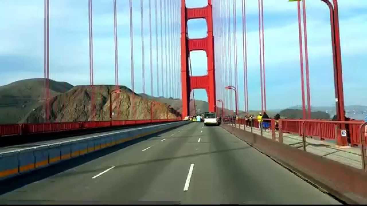 Crossing The Quot Closed Quot Golden Gate Bridge During 2015