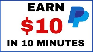 Earn Free PayPal Money In 10 Mins Now! (Real Proof?)