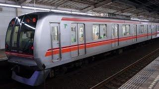 【FHD】東葉高速鉄道東葉高速線 村上駅にて(At Murakami Station on the Toyo Rapid Railway Toyo Rapid Line)