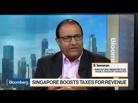 Trade Minister Says Singapore Competitive Despite Higher Taxes