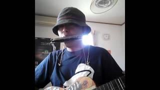 昭和の名作ドラマ、スクールウォーズの主題歌をギターとハーモニカで演...
