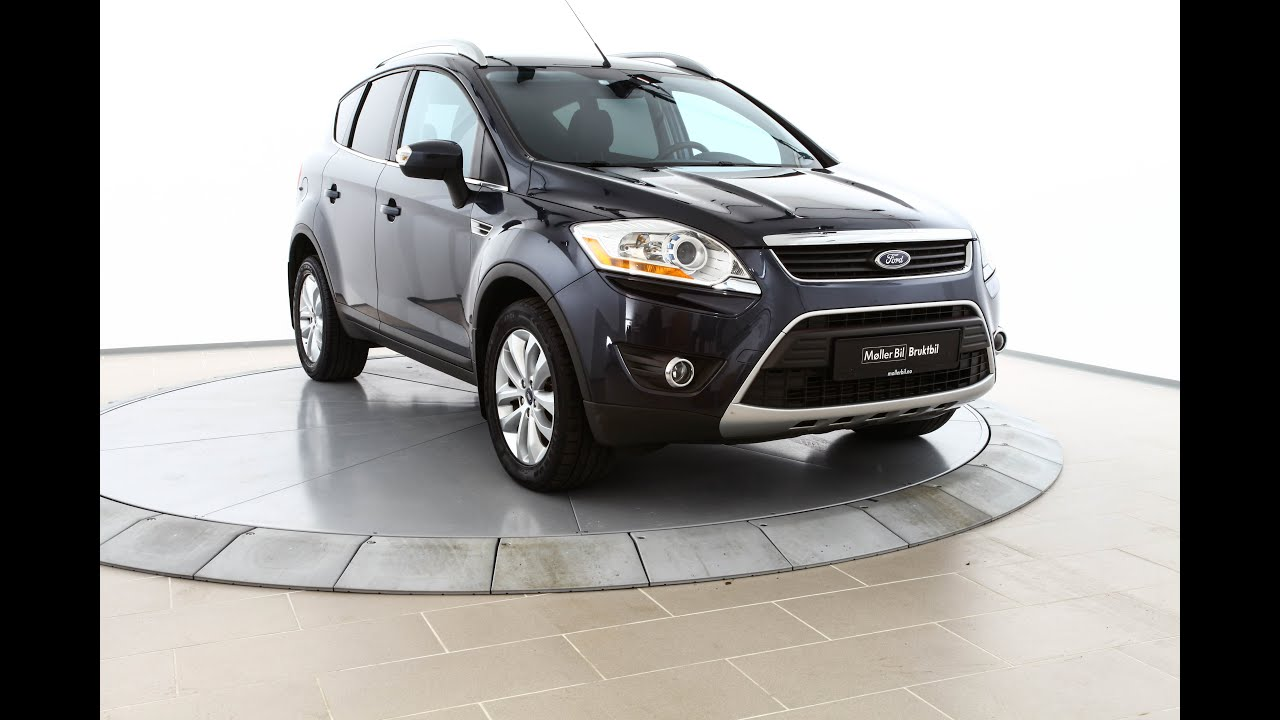 ford kuga 2 0 tdci 136hk titanium 2010 youtube. Black Bedroom Furniture Sets. Home Design Ideas