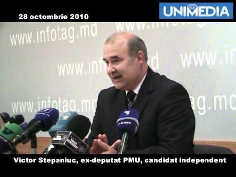 Victor Stepaniuc despre plecarea din PMU
