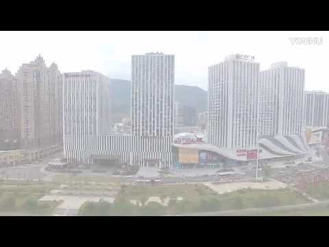Aerial Guangyuan (→_→)广元市(四川省China Sichuan Province)