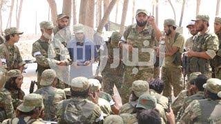 عملية عسكرية مشتركة بين الجيش السوري الحر والجيش التركي ضد داعش