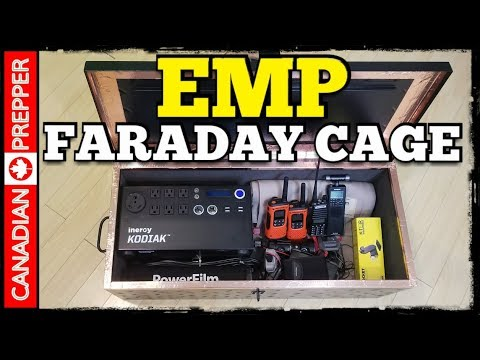 EMP Prepping: Building a Good Faraday Cage