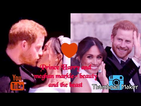 The Duke And Duchess Of Sussex Beauty And The Beast Youtube