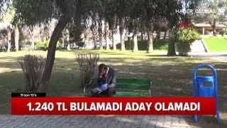 1240 TL Yatıramadı Belediye Başkan Adayı Olamadı