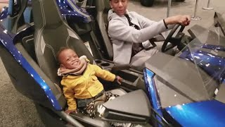 #Soinlovefamily Check out NYC Car Show 2018 [New York Vacation Vlog]