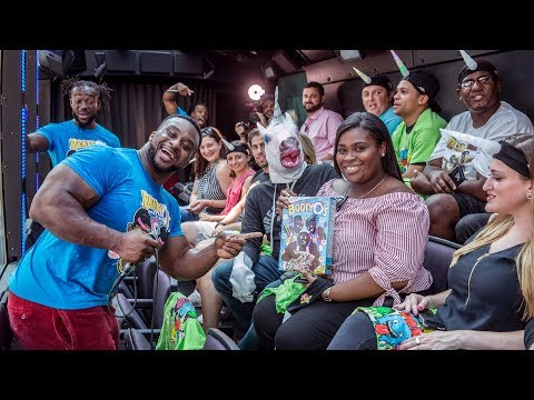 "The New Day personifies ""THE RIDE"" when they take over a New York City bus tour"