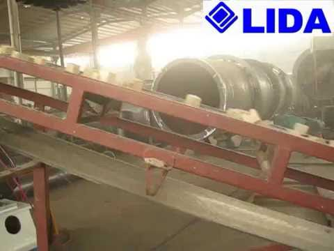 LIDA wood hammer mill with high capacity