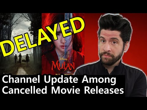 Channel Update Among Cancelled Movie Releases