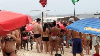 пляж Копакабана Рио де Жанейро(канун нового года 31января 2012 Копакабана Рио де Жанейро., 2012-03-01T18:28:04.000Z)