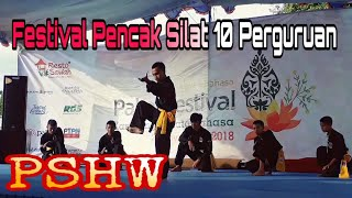 "PSHW ""Setia Hati Winongo"" || Festival Pencak Silat 10 Perguruan IPSI"