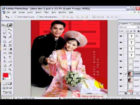 Photoshop CS2 - Phần 6 - Bài 3c - Album đơn