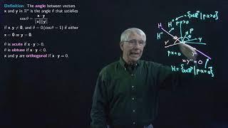 Lecture 9(B): Euclidean Space