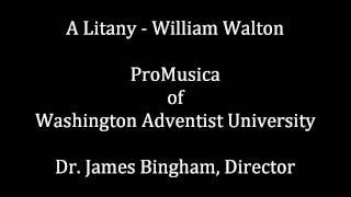 A Litany - William Walton