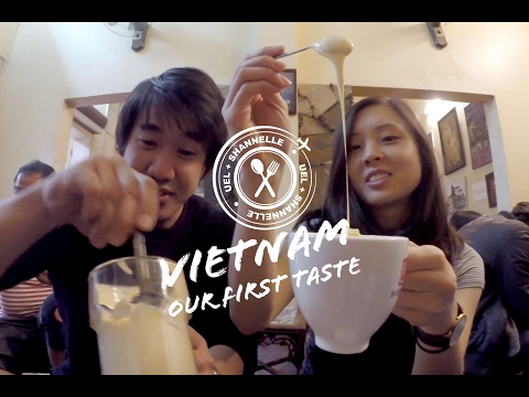 "Vietnam || Ep 1 || Our First Taste of Hanoi's Famous Egg Coffee and ""BUN CHA""!!!"