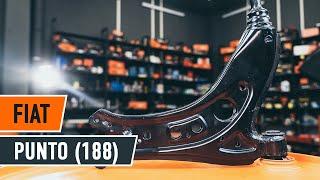 Jak vyměnit Řídící páka zavěšení kol на FIAT PUNTO (188) - online zdarma video