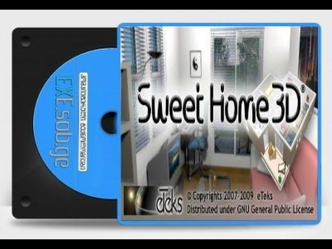 როგორ შევქმნათ სახლის პროექტი Sweet Home 3D