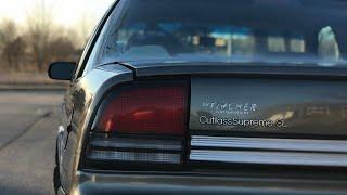 Американский Oldsmobile Cutlass Supreme SL 3.1 V6.  Внутри лучше чем снаружи!!
