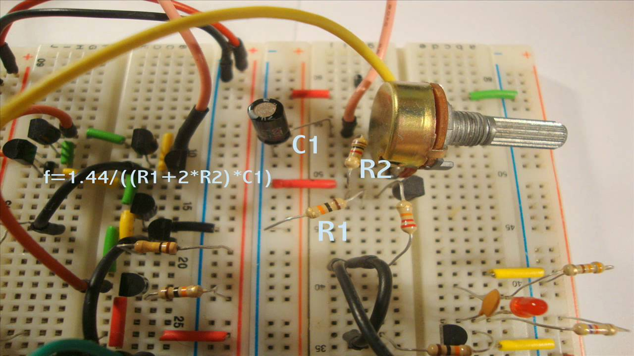 Impractical 555 Timer Made With Transistors Youtube Transistor As A Circuit Electronica