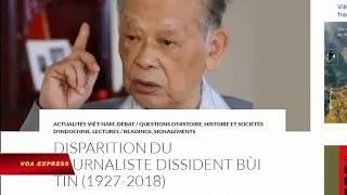 Nhà báo Bùi Tín - một chứng nhân lịch sử đã ra đi (VOA)