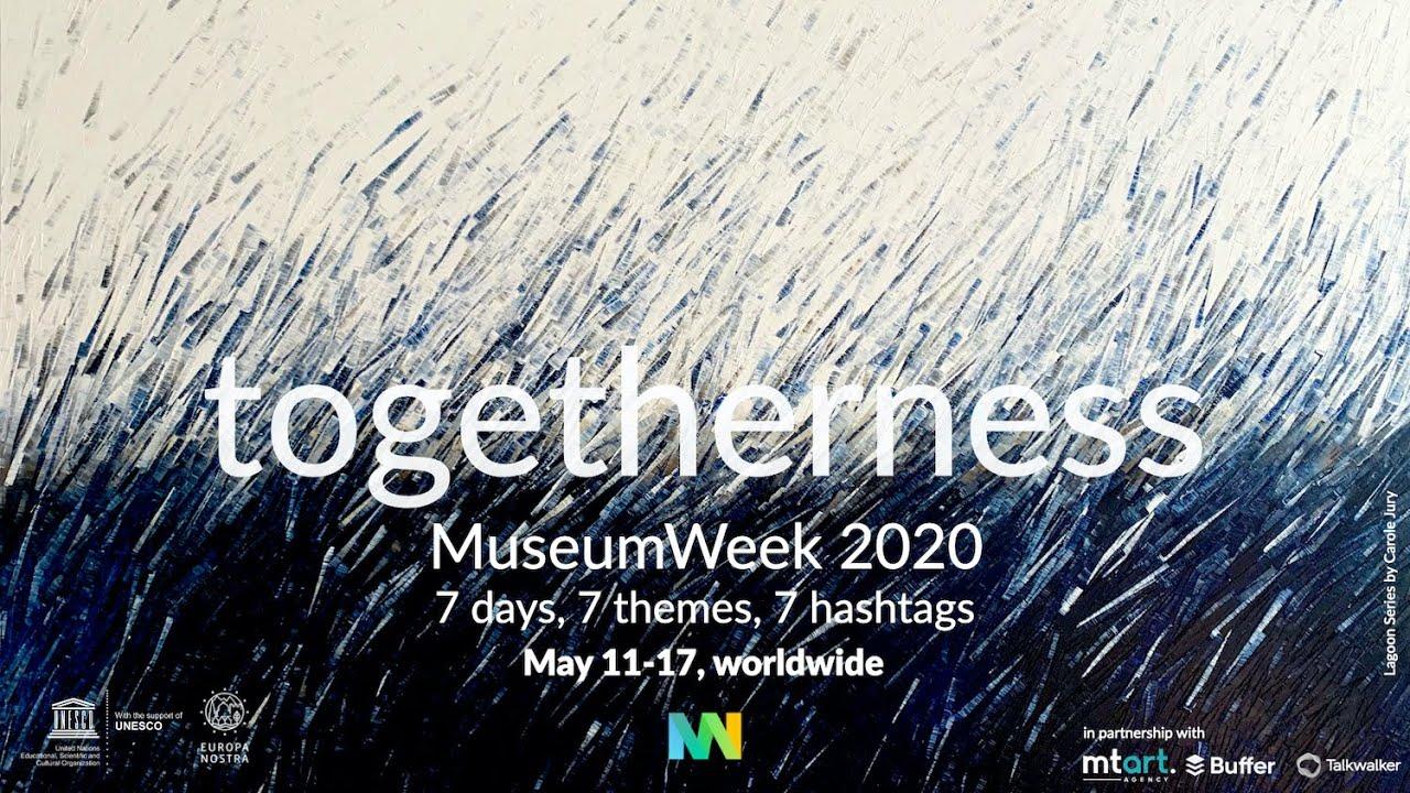 MuseumWeek 2020's hashtags
