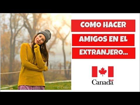 Amigos canadienses que hablen espanol