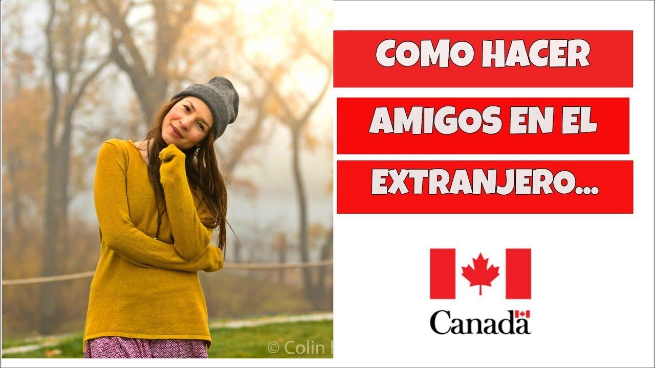 Hacer amigos de Canadá gratis.