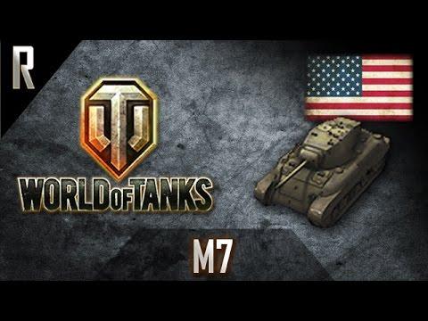 ► World Of Tanks: M7, American Tier V Medium Tank [6 Kills, 1609 Dmg]