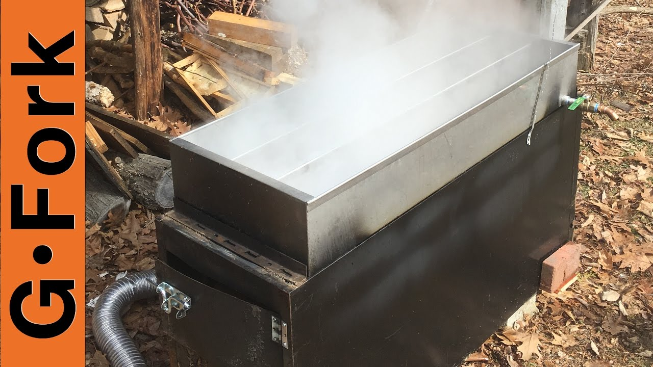 File Cabinet Evaporator Upgrade!   Make Maple Syrup   GardenFork