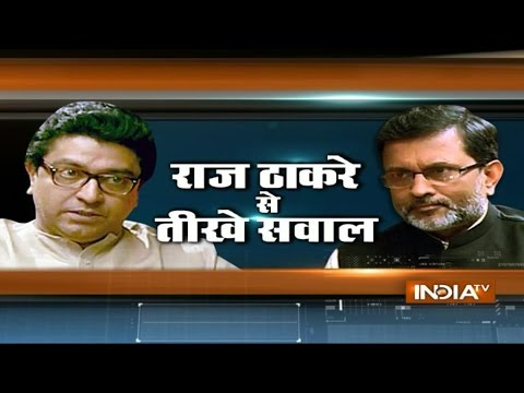 "India TV Exclusive: Ajit Anjum interviews ""Raj Thackeray"""