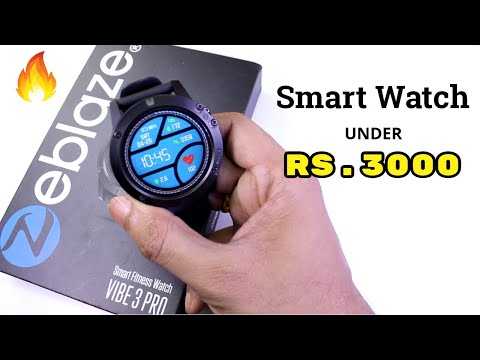 Best Smartwatch In INDIA Under Rs.3000 | Zeblaze Vibe 3 Pro