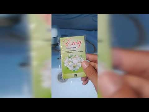 Easy Paper Soap || Hand Wash Method || Practical || 2019