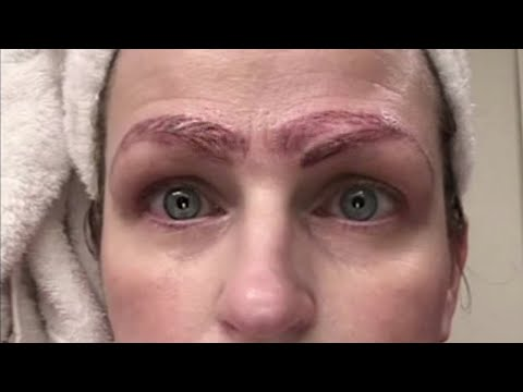 Tim Conway Jr - Microblading Gone Really Bad!