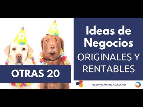 Otras 20 ideas de negocios rentables y originales