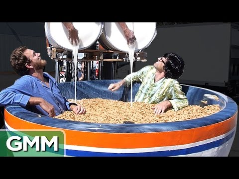 Giant Cereal Bowl Bath