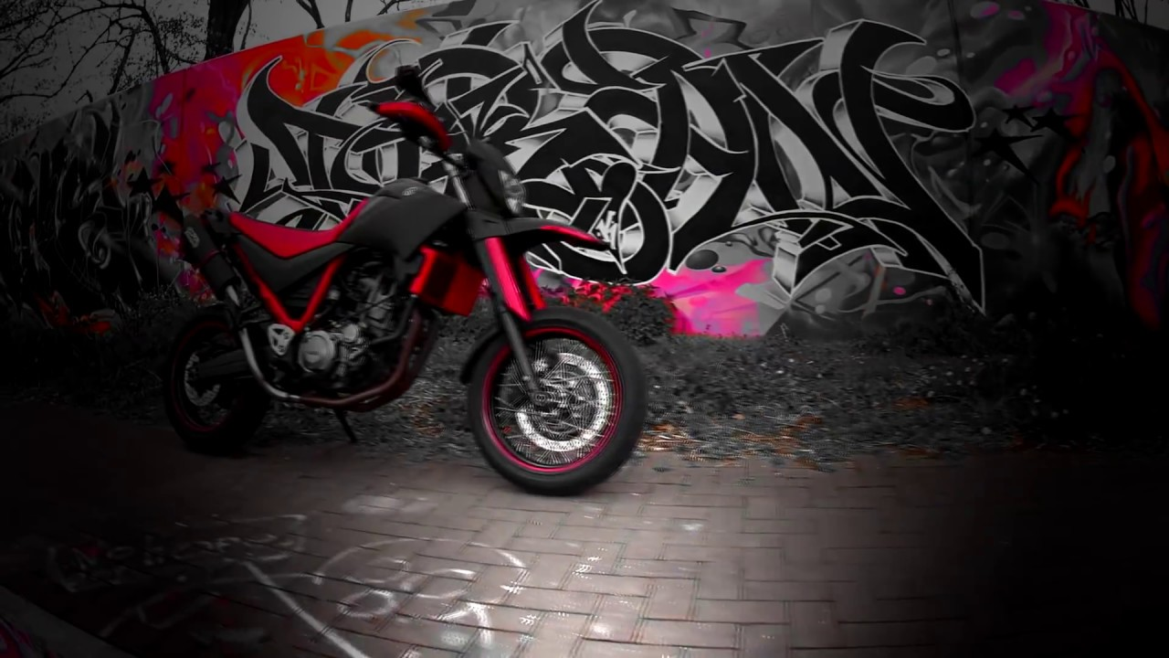 yamaha xt 660 x tuning carbon style youtube. Black Bedroom Furniture Sets. Home Design Ideas