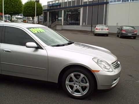 2003 Infiniti G35 Sedan Ron Tonkin Pre Owned Youtube