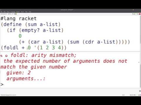 Let's Code: Racket Programming Language