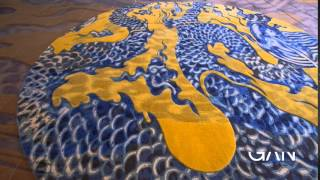 ALFOMBRA BLUE CHINA - GAN