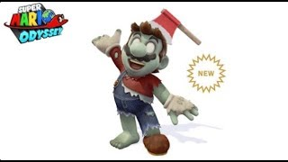 Super Mario Odyssey reveals Zombie Head gear and Suit for Mario