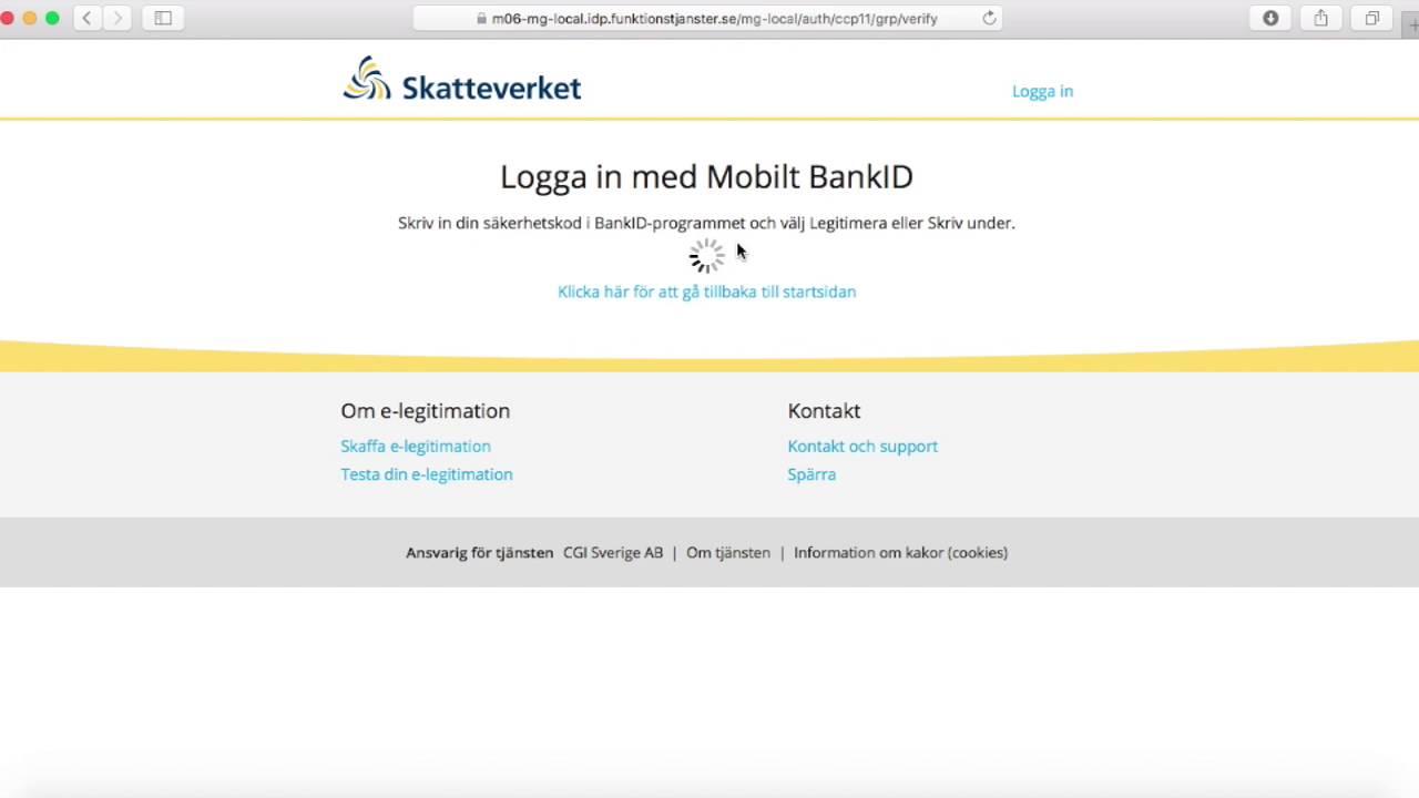 Skatteverket - instrukcije za blokadu promjene kucne adrese