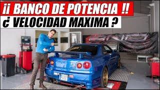 ¿ CUÁL ES LA VELOCIDAD MÁXIMA DE MI NISSAN SKYLINE GTR R34 ? | Supercars of Mike