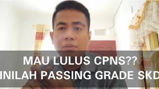 Inilah Passing Grade Seleksi Kompetensi Dasar (SKD) Test CPNS 2018