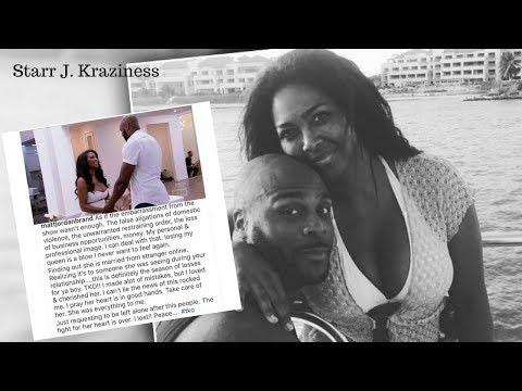 """RHOA Matt Jordan Goes Off When He Finds Out EX Kenya Moore Got Married 'SHE WAS MY QUEEN"""""""