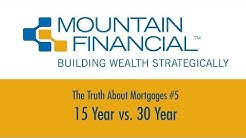 The Truth About Mortgages #5 - 15 Year vs. 30 Year | Kelly D. O'Connor